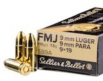 1000 Rounds of Sellier & Bellot 9mm ammo for Glock 43