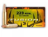 20 Rounds of 62gr Fusion .223 Ammo by Federal image
