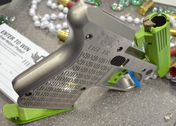 Heizer Defense pistol with 45 ammo
