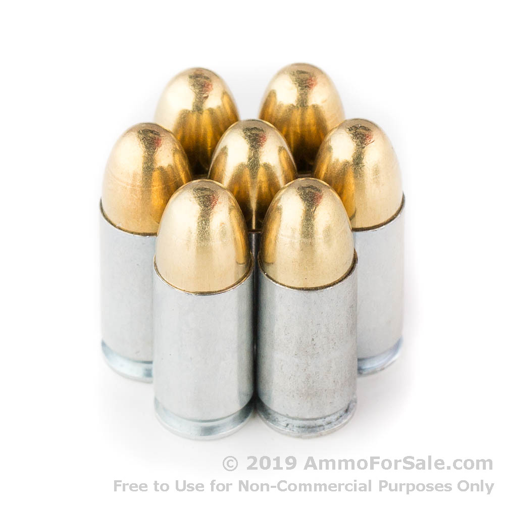 50 Rounds of 115gr FMJ 9mm Ammo by MaxxTech