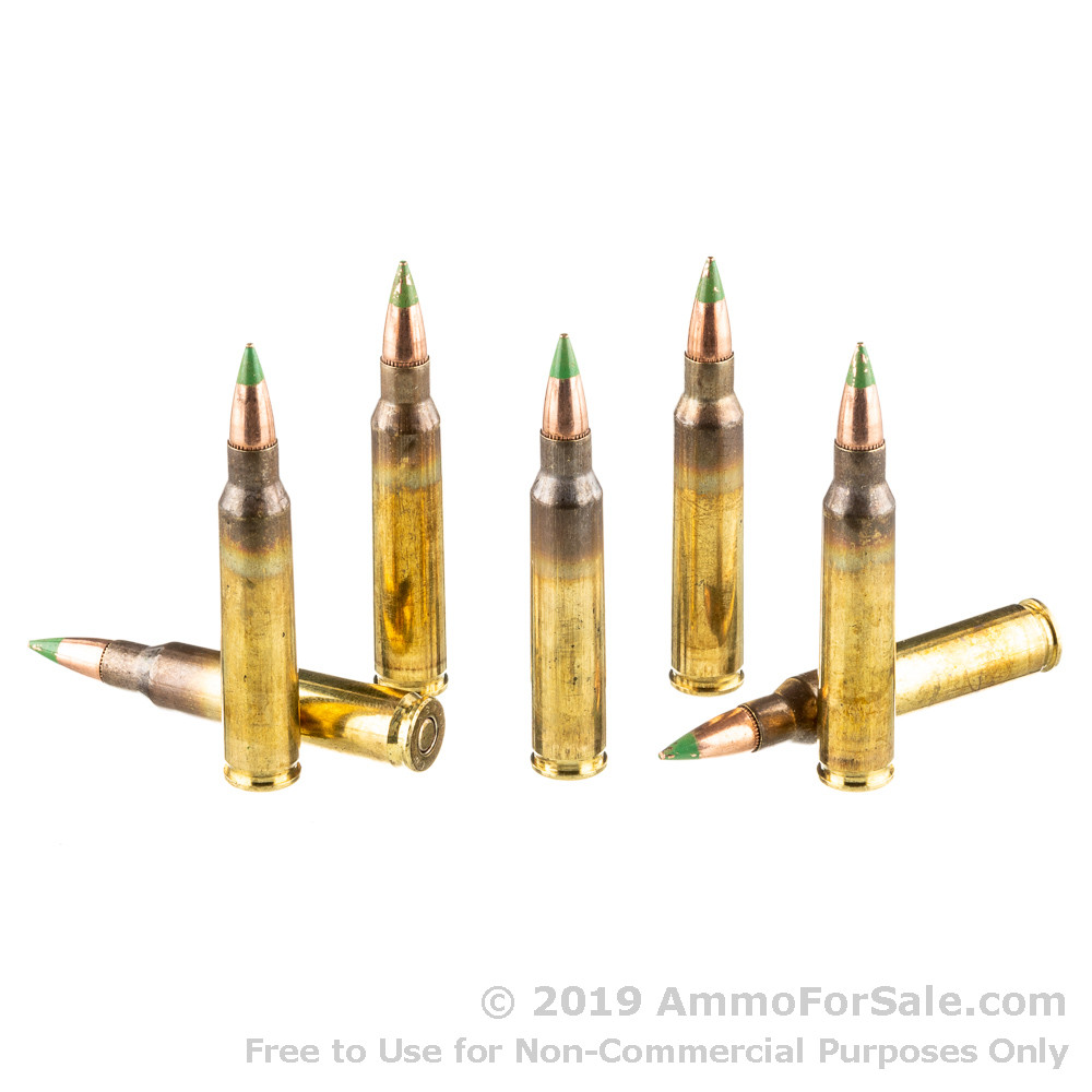 2000 Rounds Of Discount 62gr FMJ 5.56x45 M855 Ammo For