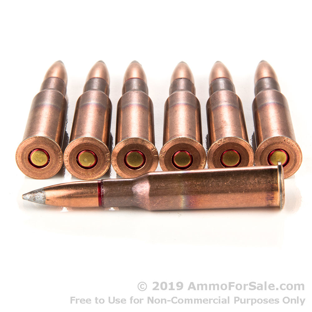 440 Rounds of 149gr FMJ 7 62x54r Ammo by Russian Surplus