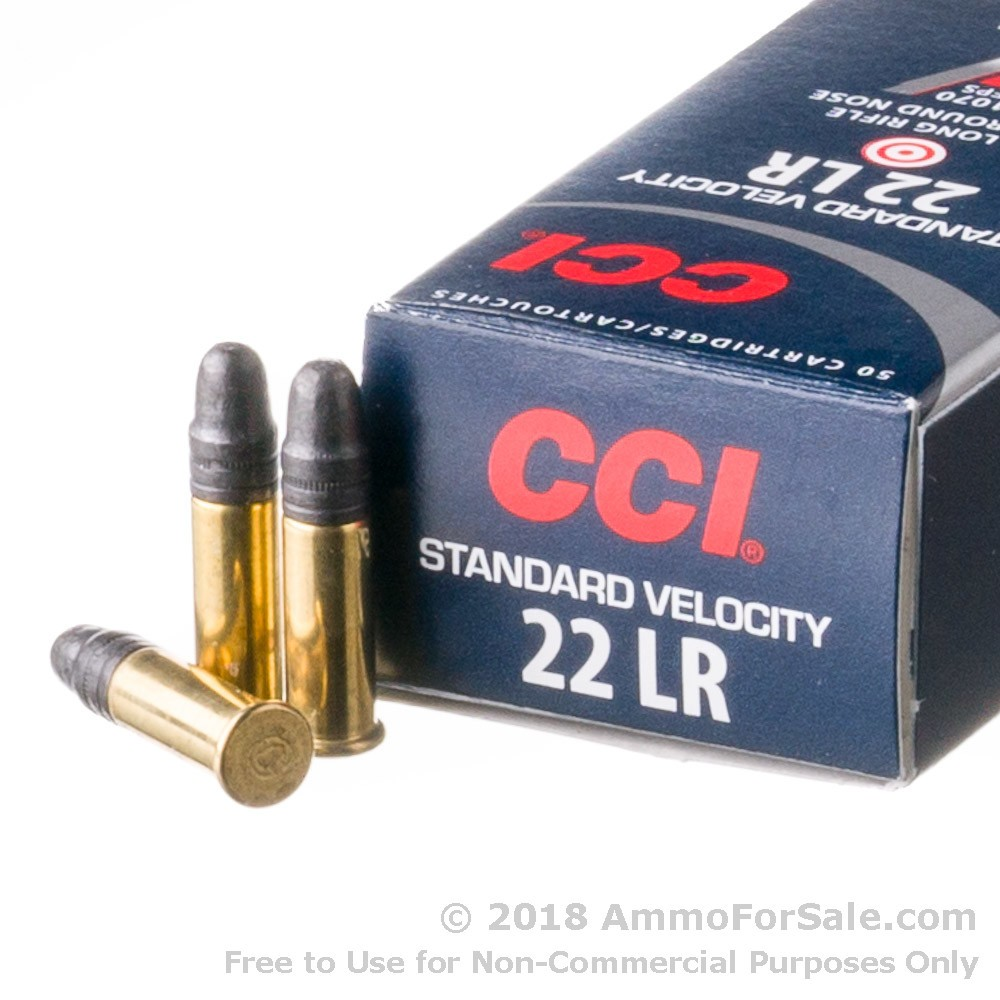 500 rounds of discount 40gr lrn 22 lr ammo for sale by cci