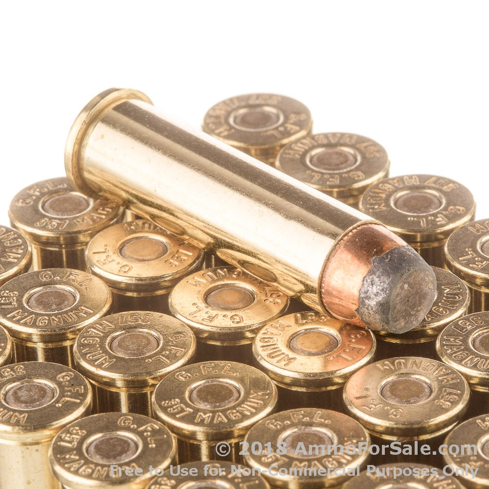1000 rounds of discount 125gr sjsp 357 mag ammo for sale by fiocchi