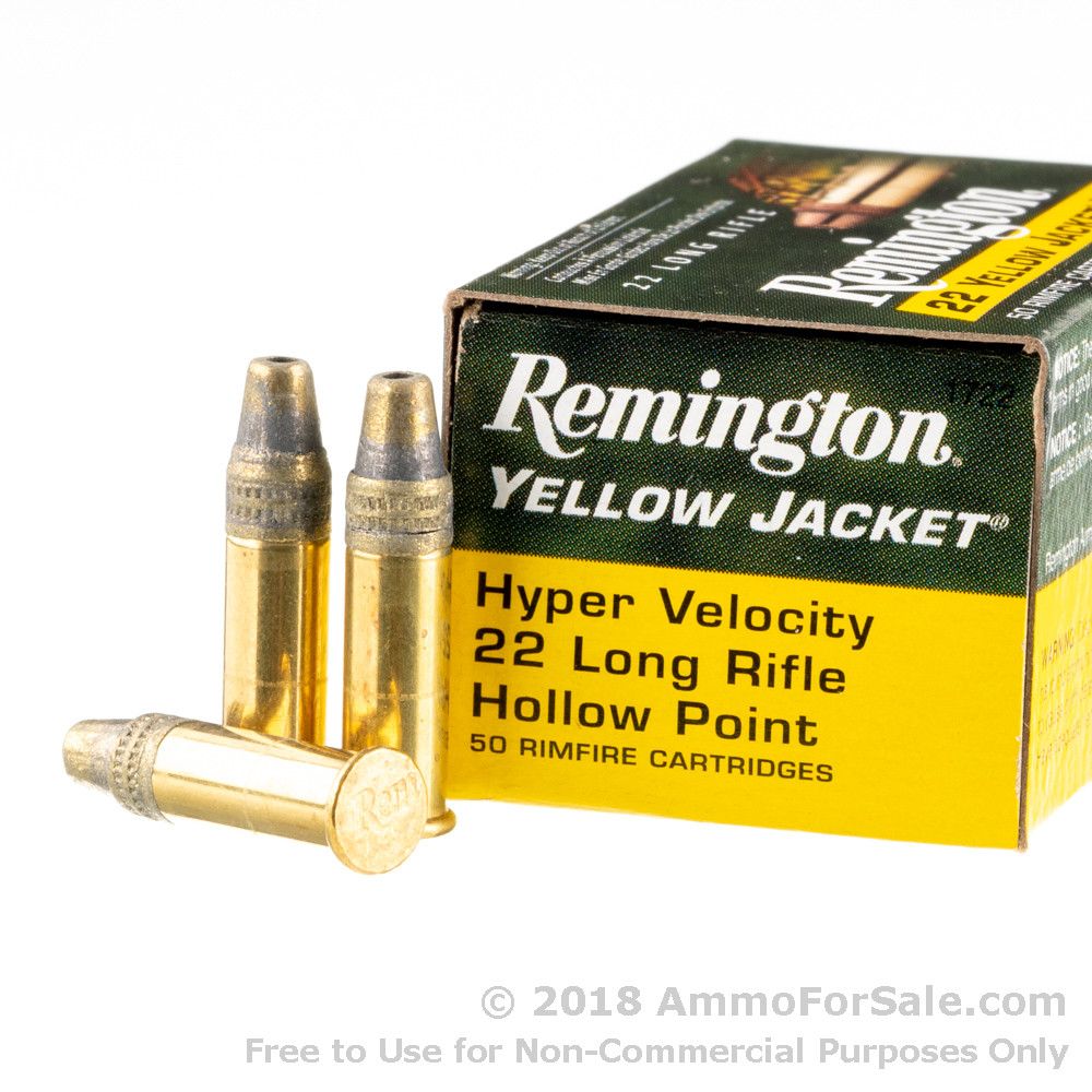 50 rounds of 33gr tc hp 22 lr ammo by remington