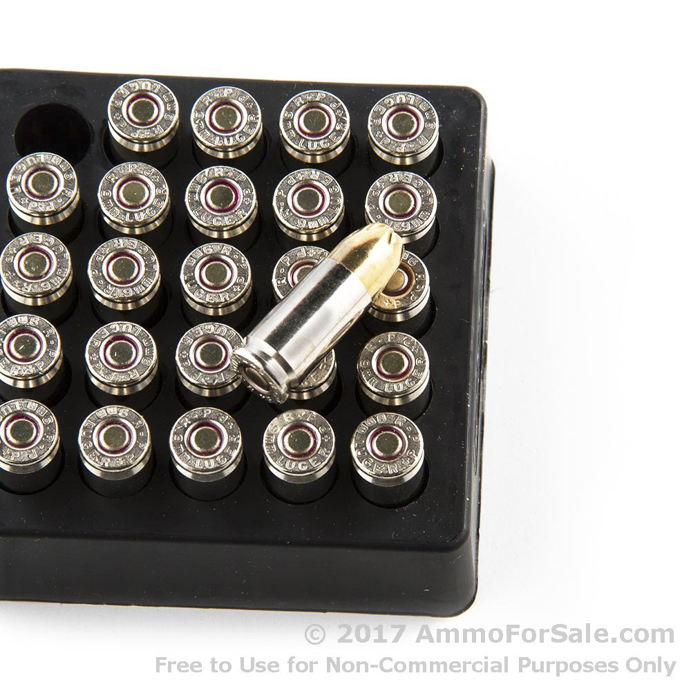 Rounds of discount gr jhp mm ammo for sale by remington