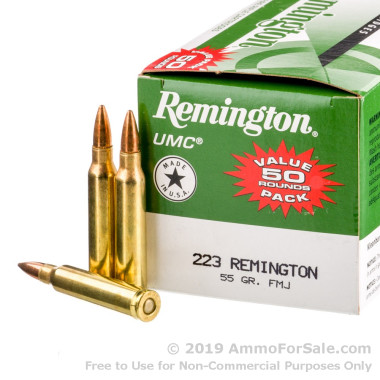 400 Rounds of 55gr MC .223 Ammo by Remington