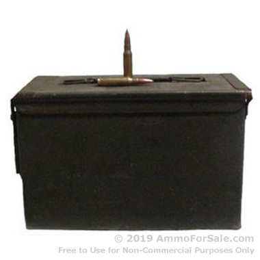600 Rounds of 147gr FMJ .308 Win Ammo by Argentina Military Surplus
