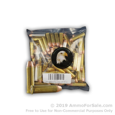 100 Rounds of 158gr FMJ .357 Mag Ammo by M.B.I.