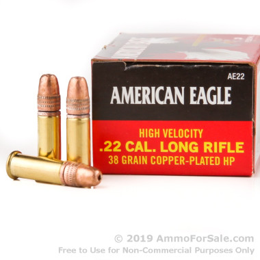 4000 Rounds of 38gr CPHP .22 LR Ammo by Federal
