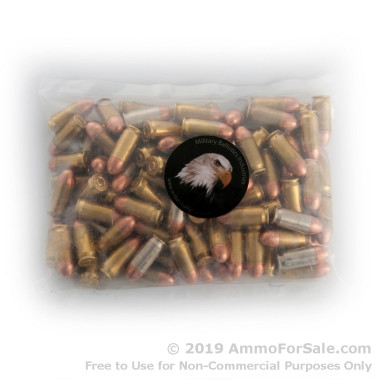 100 Rounds of 185gr FMJ .45 ACP Ammo by M.B.I.