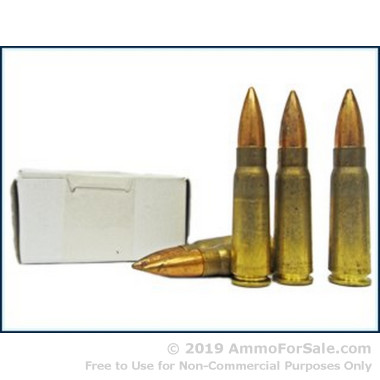 1120 Rounds of 123gr FMJ 7.62x39mm Ammo by Yugo Surplus