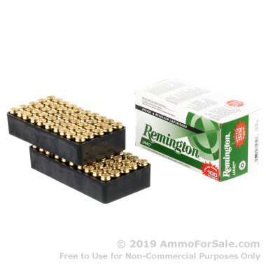 100 Rounds of 180gr MC .40 S&W Ammo by Remington
