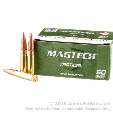 50 Rounds of 115gr OTM 300 AAC Blackout Ammo by Magtech