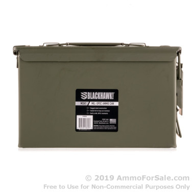 1 Green 50 Cal Surplus Ammo Can by Lake City