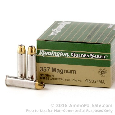 25 Rounds of 125gr JHP .357 Mag Ammo by Remington