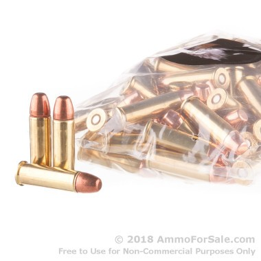 100 Rounds of 158gr FMJ .38 Spl Ammo by M.B.I.