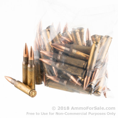 500 Rounds of XM118 175gr OTM .308 Win Ammo by Federal Lake City
