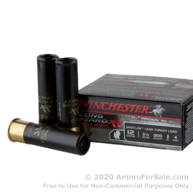 10 Rounds of 2 ounce #4 shot 12ga Ammo by Winchester