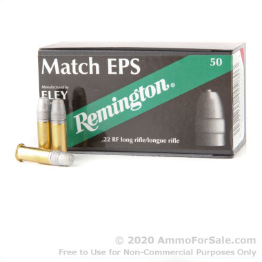 50 Rounds of 40gr LFN .22 LR Ammo by Remington