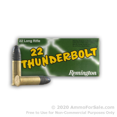 3500 Rounds of 40gr LRN .22 LR Ammo by Remington