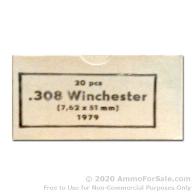 1060 Rounds of 147gr FMJ .308 Win Ammo by Sellier & Bellot