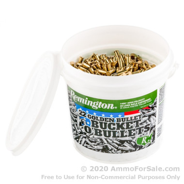 1400 Rounds of 36gr HP .22 LR Ammo by Remington