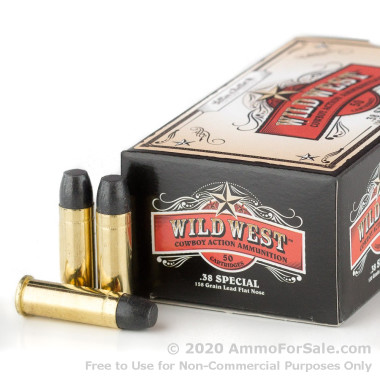 1000 Rounds of 158gr LFN .38 Spl Ammo by Sellier & Bellot