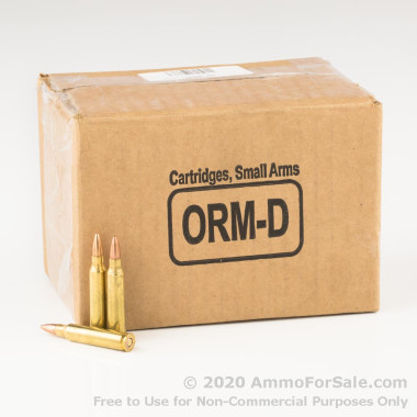 250 Rounds of 55gr FMJ .223 Ammo by Federal