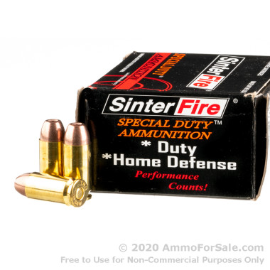 20 Rounds of 125gr Frangible .40 S&W Ammo by SinterFire