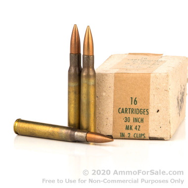320 Rounds of 150gr FMJ 30-06 Springfield Ammo by Pakistani Surplus