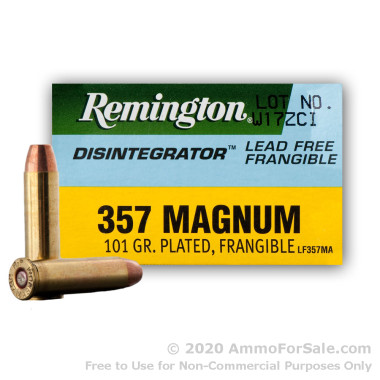 357 Mag Remington Disintegrator Frangible Ammo For Sale