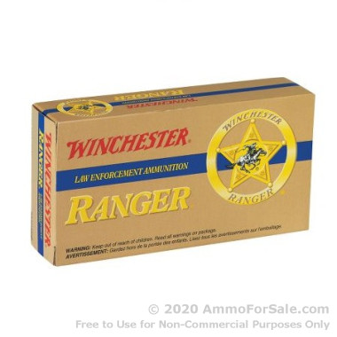 50 Rounds of 110gr JHP .38 Spl Ammo by Winchester