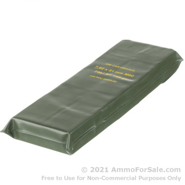 200 Rounds of 145gr FMJBT M80 7.62x51 Ammo in Battle Pack by Prvi Partizan