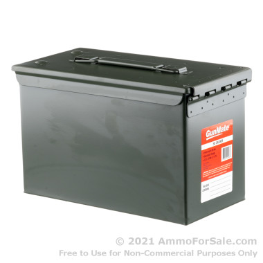 1 Green 50 Cal M2A1 Mil-Spec Ammo Can