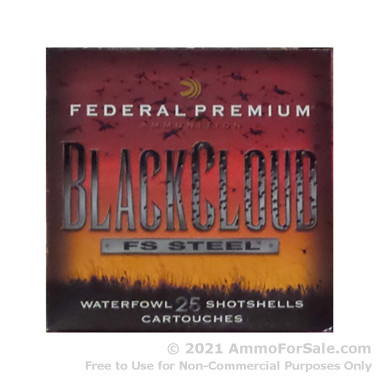 250 Rounds of 1 1/4 ounce BBB Shot 12ga Ammo by Federal Black Cloud