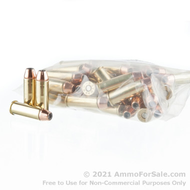 50 Rounds of 300 gr JHP .44 Mag Ammo by DRS