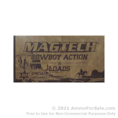 1000 Rounds of 158gr LFN .38 Spl Ammo by Magtech Cowboy Action