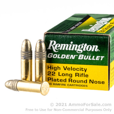 500  Rounds of 40gr CPRN .22 LR Ammo by Remington