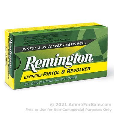 50 Rounds of 230gr JHP .45 ACP Ammo by Remington Express