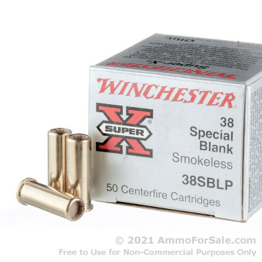 50 Rounds of  Blanks .38 Spl Ammo by Winchester Super-X