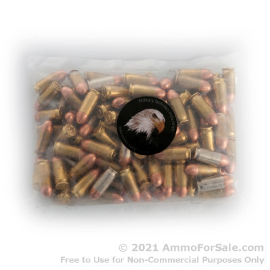 100 Rounds of 230gr Leadless TMJ .45 ACP Ammo by M.B.I.