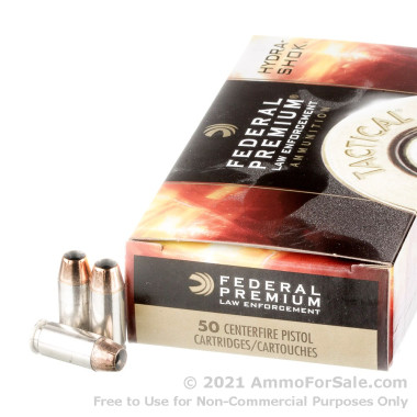 50 Rounds of 155gr JHP .40 S&W Ammo by Federal