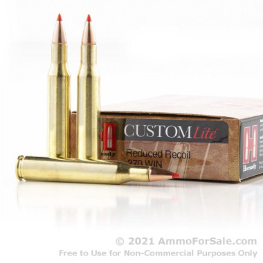 20 Rounds of 120gr SST .270 Win Ammo by Hornady