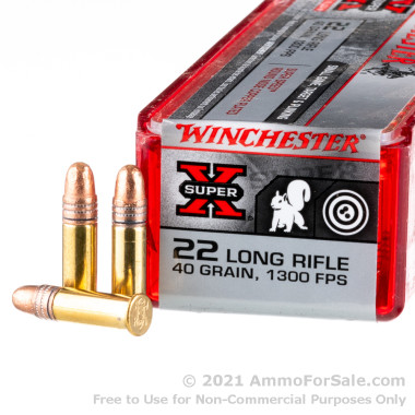 500  Rounds of 40gr CPRN .22 LR Ammo by Winchester
