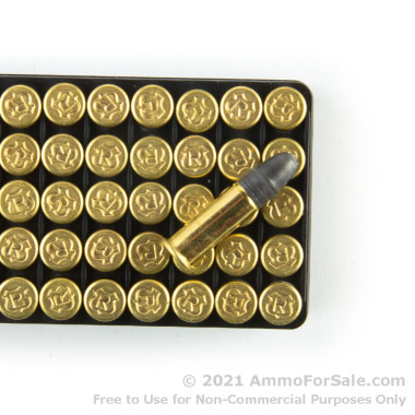 50 Rounds of 40gr LRN .22 LR Ammo by RWS