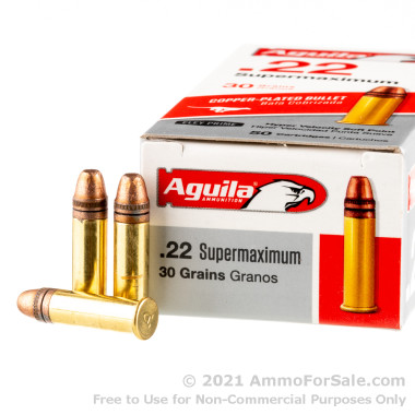 500  Rounds of 30gr CPRN .22 LR Ammo by Aguila