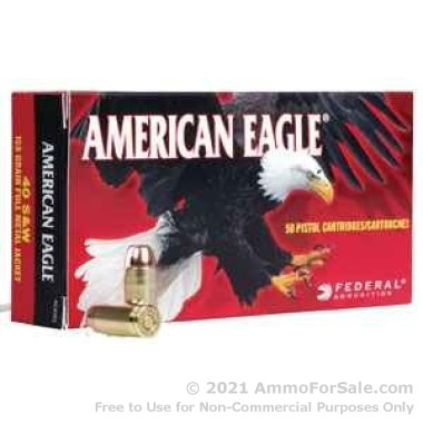 1000 Rounds of 95gr FMJ 9x18mm Makarov Ammo by Federal American Eagle