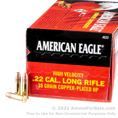40 Rounds of 38gr CPHP .22 LR Ammo by Federal