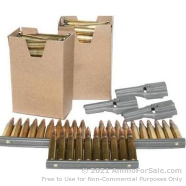 900 Rounds of 55gr FMJBT 5.56x45 Ammo on Stripper Clips by Federal Ammunition